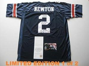 Cam Newton Signed Jersey - AUBURN w HEISMAN LE 1 2 - Upper Deck Certified -... by Sports+Memorabilia