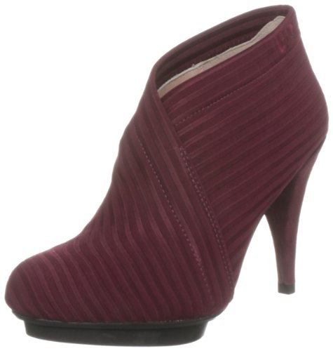 United Nude Women's Fold Deluxe Bordeaux Ankle Boots 8100916033 4 UK