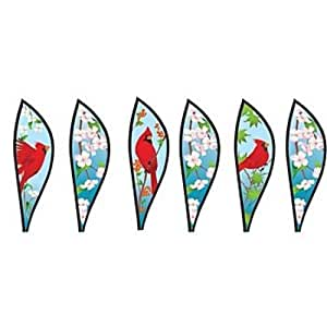 Premier designs pd25791 cardinals hot air for Garden spinners premier designs