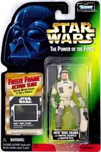 Star Wars: Power of the Force Freeze Frame Hoth Rebel Soldier Action Figure