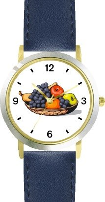 Still life of Fruit - WATCHBUDDY® DELUXE TWO-TONE