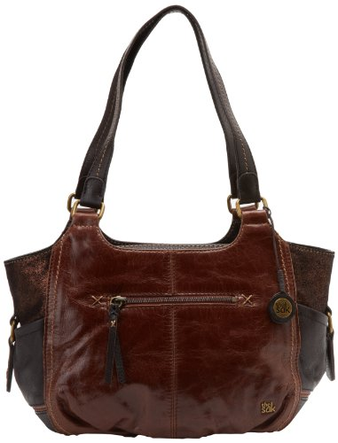 The SAK Kendra 1000037437 Satchel Handbag,Teak Multi,One Size