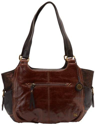 The SAK Kendra 1000037437 Satchel Handbag,Teak Multi,One Size