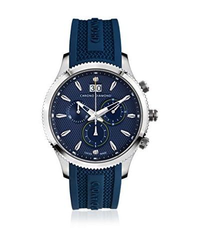 Chrono Diamond Reloj con movimiento cuarzo suizo 12000A Woman Azul Noche 41.0 mm