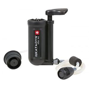 Katadyn Wasserfilter Hiker Pro, schwarz, 8018280 von Katadyn