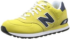 New Balance ML574C D 14E 357301-60 Herren Sneaker, Mehrfarbig (CVN MUSTARD 7), EU 43 (US 9.5)