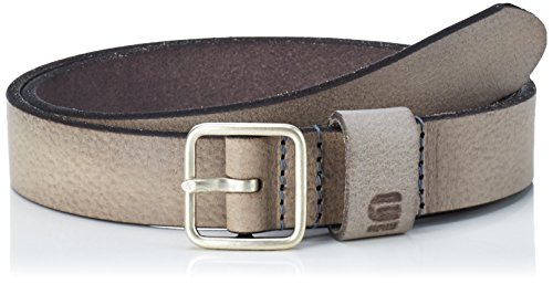 G-STAR RAW Bryn Belt Wmn, Cintura Donna, Grigio (Grey/Antic Silver 6356), L