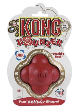 Boss Pet Products 02705 Kong Dog Toy Red Bounzer Ball