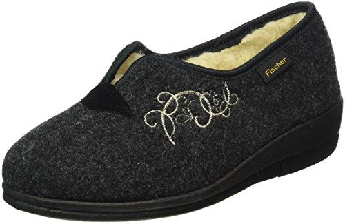 fischer-womens-damen-hausschuh-warm-lined-slippers-grey-size-55-6