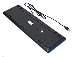 Dell 2GR91 Slim USB 104-Key Keyboard with Fold-out Feet for Select Dell Models (Black)