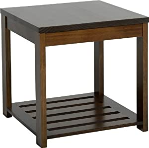 Seconique Eclipse Lamp Table, Walnut