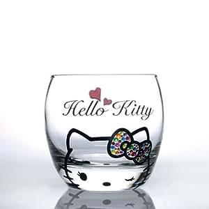 Amazon.com | Hello Kitty/ Wink Kitty Rock Glass: Wine Glasses