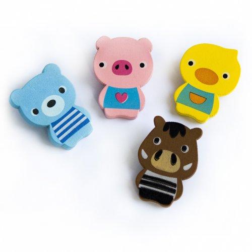 [Smile Animals-1] - Refrigerator Magnets / Animal Magnets
