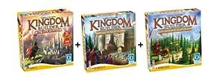 Queen Games 61132 - Kingdom Builder Deluxe Bundle: Basisspiel mit Erweiterung 1 und 2 - Spiel des Jahres 2012