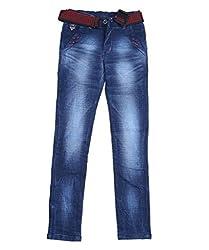 DUC Boy's Denim Dark Blue Jeans (kd03-db-36)