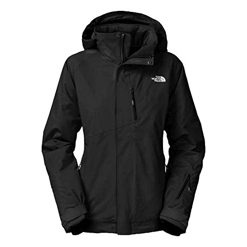 The North Face Women's Waterproof Hooded Bansko Jacket Anorak Coat Black (Xl)