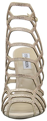 Steve Madden Women's Slithr-R Dress Sandal, Blush Multi, 10 M US