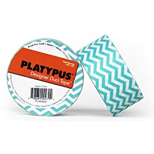 "Fortis Design PT-CHEVRON Platypus Pool Chevron Designer Duct Tape, 32' Length x 2"" Width"