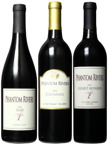 Phantom Rivers Softer Central Coast Red Wines Mixed Pack, 3 X 750 Ml