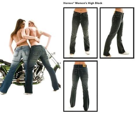 Hornee SA-W2 Mesdames Regular Fit haut courte jambe noire du genou c / w Amour