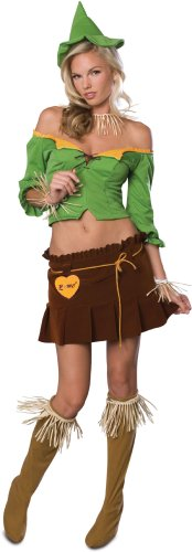 Women's Sexy Scarecrow Costume (Size:Small 6-10)