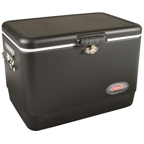 Coleman Steel Cooler, Matte Black, 54-Quart front-916176