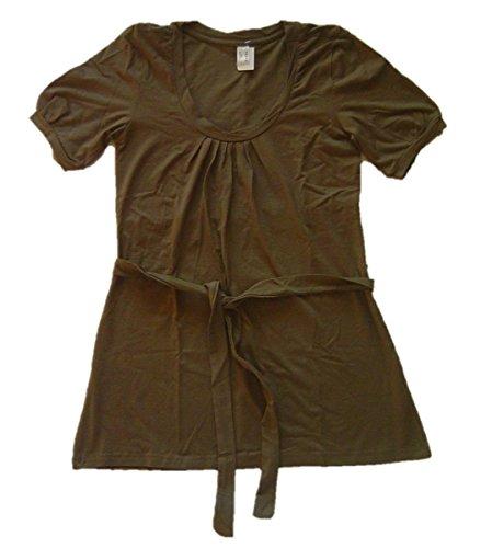 donna-shirt-long-shirt-stretch-shirt-con-drappeggi-e-cintura-verde-oliva-m