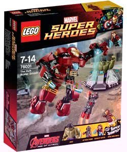 LEGO Super Heroes Avengers The Hulk Buster Smash 76031 by LEGO