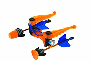 Zing Toys Air Storm Zip Bak Bow, Orange Black