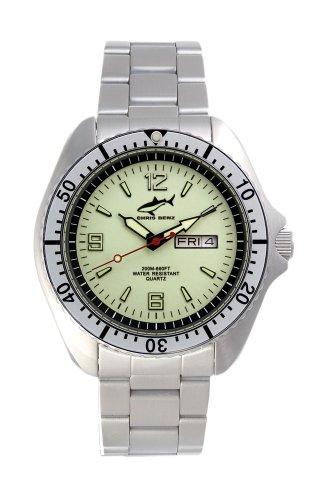 Chris Benz One Man CBO-N-SI-MB Elegante orologio da uomo Orologio da immersione