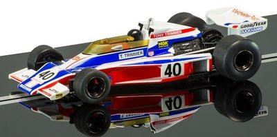Scalextric C3414A Legend Limited Edition McLaren M23 Tony Trimmer Slot Car (1:32 Scale)