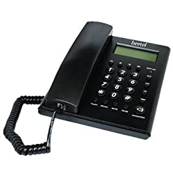 Beetel M52 CLI Corded Phone (Black)