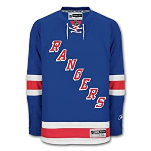 New York Rangers Reebok Premier Youth Replica Home NHL Hockey Jersey Size L/XL