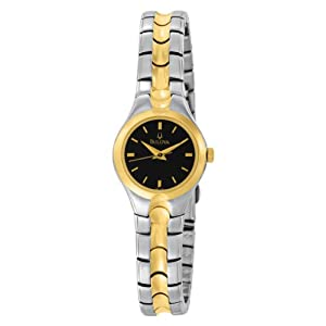 Bulova Women's 98L136 Bracelet Black Dial Watch