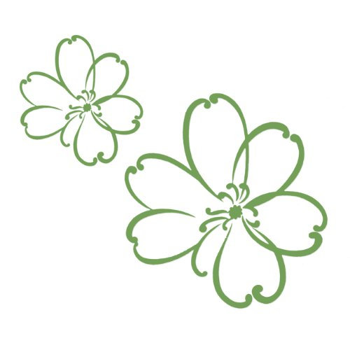 Sweet Potato Wall Decals, Green