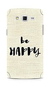 AMEZ be happy Back Cover For Samsung Galaxy Grand Max