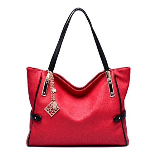 cloudbag-hb30135-pu-leather-handbag-for-womenleisure-solid-tote-2016red