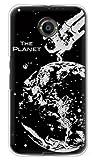 携帯電話taro Y!mobile Nexus 6 ケース カバー (地球 銀箔) Google Nexus6-OCA-02614 の中古画像