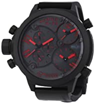 Welder Unisex 8002 K29 Oversize Three Time Zone Chronograph Watch