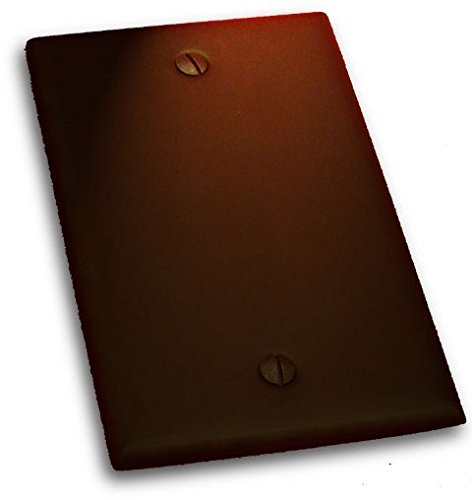 "Residential Essentials 10811VB Single Blank Switch Plate, 4.5"" x 2.75"", Venetian Bronze"