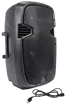"""Deura SBA-115 2-Way 15"""" 3000 Watts Peak/1500 Watts RMS Active/Powered DJ/PA Speaker With a 3"""" Voice Coil and a 1.75"""" Pure Titanium Compression Driver"""