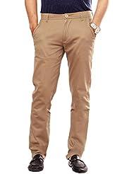 Uber Urban Mens Slim Fit Sleek Pant Lycra Trouser 7