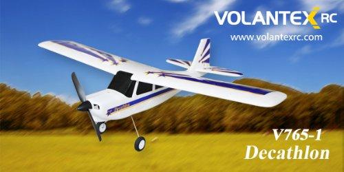 2.4Ghz 4-Channel Radio Control Electric Airplane Decathlon Pro Rtf W/Brushless Set Up + Epo Durability