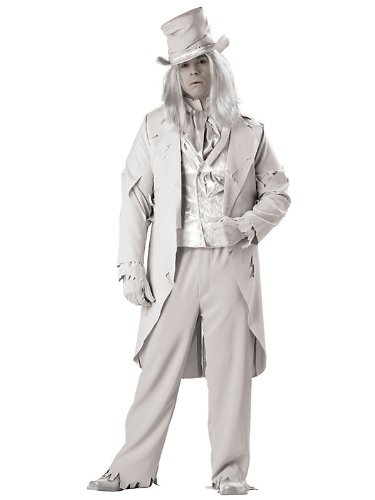 In Character Costumes - Ghostly Gent Adult - 54-56