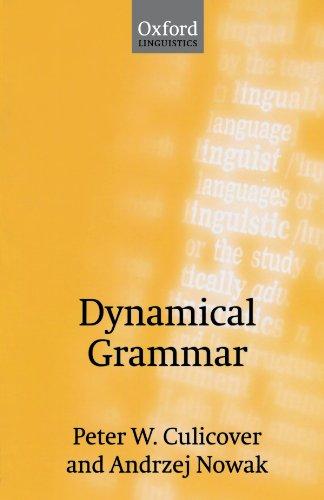 Dynamical Grammar: Foundations of Syntax: Pt.2