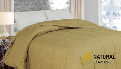 Natural Comfort New In Color Down Alternative Comforter, King, Beach Grass front-1056265
