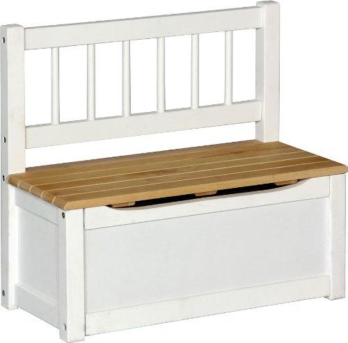 holzbank wei. Black Bedroom Furniture Sets. Home Design Ideas