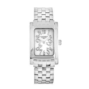 Longines DolceVita L51554976 24.5mm Silver Steel Bracelet & Case Anti-Reflective Sapphire Women's Watch