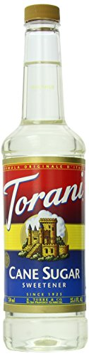 Torani Syrup, Cane Sugar Sweetener, 25.4 Ounce (Pack Of 4)