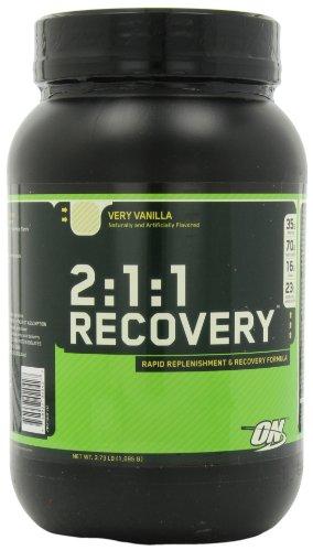 Optimum Nutrition 2:1:1 Replenishment and Recovery Powder Vanilla 1695g